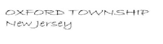 Township of Oxford, NJ