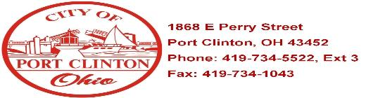 City of Port Clinton OH