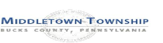 Middletown Township Tax Collector, PA