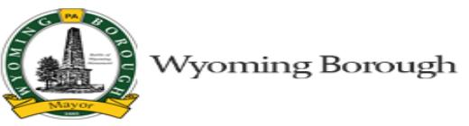 Wyoming Borough Tax, PA - Paul Konopka (Tax Collector)