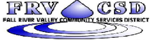 Fall River Valley Community Services District